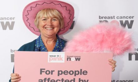 Arfon AM turns pink for charity and backs Breast Cancer Campaign