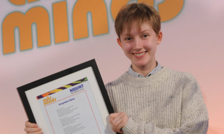 Bangor pupil wins national Arts & Minds competition