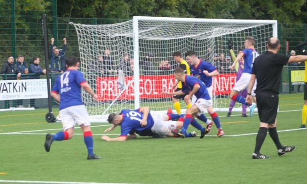 Penalty shootout sends Bangor 1876 into the Welsh Cup 2nd Round