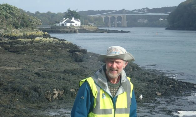 Cancer charity walker completes Anglesey – Bangor leg of epic 7,000 mile trek