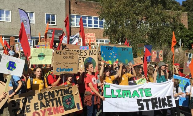 Protestors plan another Bangor climate strike