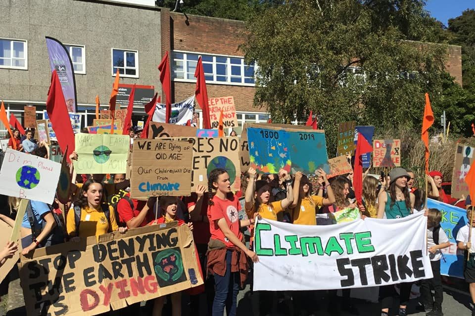 Protestors plan another Bangor climate strike