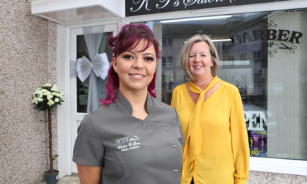Apprenticeship helps Katie's hairdressing business dream become a reality