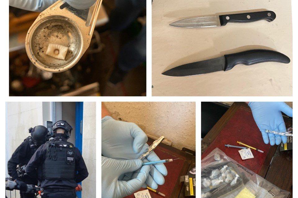 Large police operation targets County Lines drug dealers in Bangor