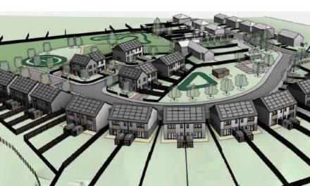 Proposed development of 30 houses at Pen y Ffridd Bangor
