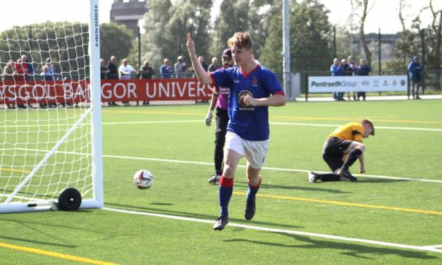 Bangor 1876 maintain 100% record with biggest win yet