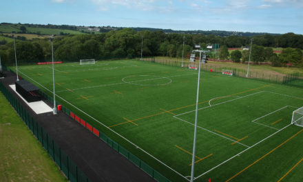 Official opening of Bangor University's 3G pitch at Treborth