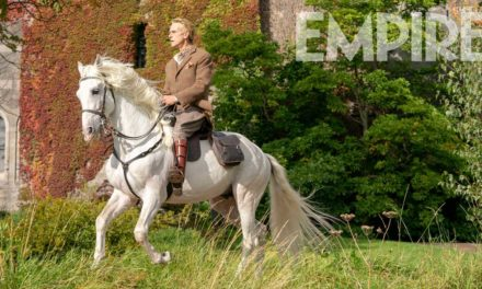 New photo of Jeremy Irons at Penrhyn Castle reveals more about Watchmen series