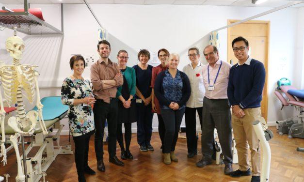 Musculoskeletal service at Ysbyty Gwynedd praised by international GP