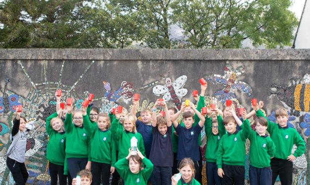 Gwynedd school kitchens reduce the use of single-use plastics