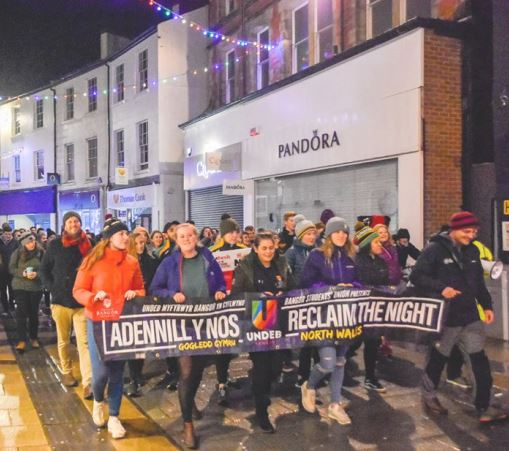 Reclaim the Night protest march returns to Bangor