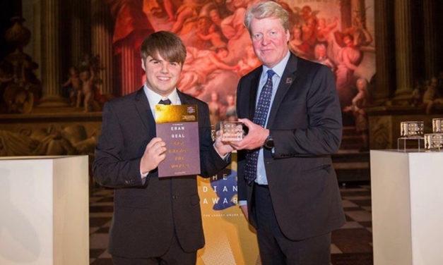 Diana Legacy Award honour for Coleg Menai Sports student