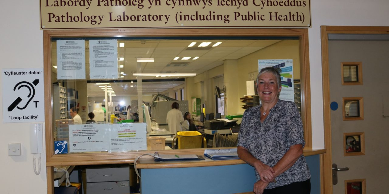 Ysbyty Gwynedd Biochemist who almost died from flu urges others to get vaccinated
